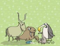 Ζώα που έχουν τη διασκέδαση No.12 Στοκ εικόνα με δικαίωμα ελεύθερης χρήσης