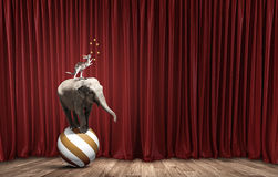 Ζώα τσίρκων Στοκ φωτογραφία με δικαίωμα ελεύθερης χρήσης