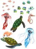 ζώα υποβρύχια Στοκ Φωτογραφίες