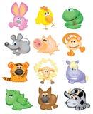 ζώα χαριτωμένα Στοκ Εικόνες