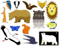 ζώα διανυσματική απεικόνιση