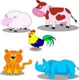 Ζώα Στοκ Εικόνες