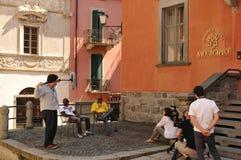 Ζώνες που παίρνουν τη ειδησεογραφική κάλυψη στο μπροστινό ot το municipio όπως στοκ φωτογραφία με δικαίωμα ελεύθερης χρήσης