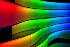 Ζώνες του πολύχρωμου φωτός Στοκ φωτογραφία με δικαίωμα ελεύθερης χρήσης