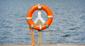 Ζώνη ζωής, δαχτυλίδι διάσωσης Στοκ φωτογραφίες με δικαίωμα ελεύθερης χρήσης