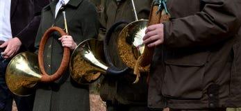 Ζώνη κέρατων κυνηγιού Στοκ φωτογραφία με δικαίωμα ελεύθερης χρήσης