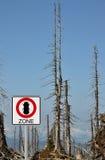 Ζώνη κανθάρων φλοιών στο υποστήριγμα Rachel Στοκ φωτογραφία με δικαίωμα ελεύθερης χρήσης