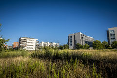 Ζώνη κατοικιών Sant Cugat del Valles στη Βαρκελώνη Στοκ φωτογραφία με δικαίωμα ελεύθερης χρήσης