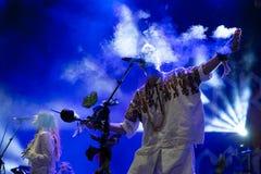 Ζώνη μαχητών κρυστάλλου στη συναυλία στο φεστιβάλ Dcode Στοκ φωτογραφίες με δικαίωμα ελεύθερης χρήσης