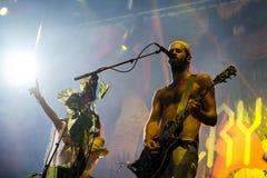 Ζώνη μαχητών κρυστάλλου στη συναυλία στο φεστιβάλ Dcode Στοκ εικόνες με δικαίωμα ελεύθερης χρήσης