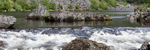 ζώνη ορμητικά σημείων ποταμ&om στοκ φωτογραφία