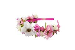 Ζώνη που διακοσμείται επικεφαλής με τα λουλούδια στοκ φωτογραφία με δικαίωμα ελεύθερης χρήσης