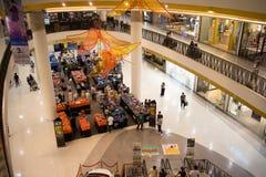 Ζώνη πώλησης προώθησης κεντρικό mai Chiang φεστιβάλ Στοκ Εικόνες