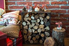 Ζώνη φωτογραφιών Χριστουγέννων στο εκλεκτής ποιότητας ύφος Στοκ φωτογραφίες με δικαίωμα ελεύθερης χρήσης