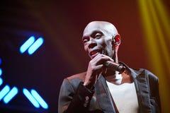 Ζώνη χορού άπιστη στη συναυλία Στοκ Εικόνες