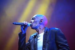 Ζώνη χορού άπιστη στη συναυλία Στοκ Εικόνα