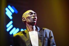 Ζώνη χορού άπιστη στη συναυλία Στοκ φωτογραφίες με δικαίωμα ελεύθερης χρήσης