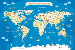 Ζώο χαρτών για το παιδί απεικόνιση αποθεμάτων