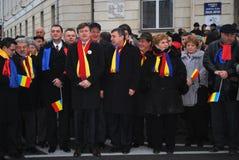 ηγέτες antonescu crin φιλελεύθερο&io Στοκ φωτογραφίες με δικαίωμα ελεύθερης χρήσης