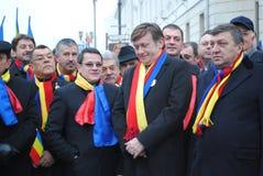 ηγέτες antonescu crin φιλελεύθερο&io Στοκ Εικόνες