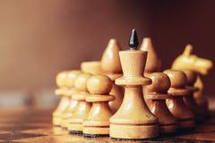 Ηγέτης σκακιού στοκ φωτογραφία με δικαίωμα ελεύθερης χρήσης