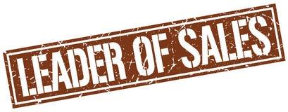 Ηγέτης του γραμματοσήμου πωλήσεων ελεύθερη απεικόνιση δικαιώματος