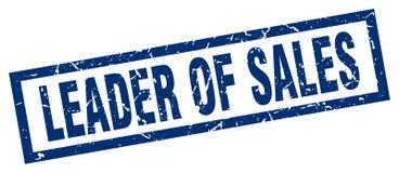 Ηγέτης του γραμματοσήμου πωλήσεων απεικόνιση αποθεμάτων