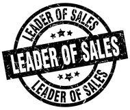 Ηγέτης του γραμματοσήμου πωλήσεων διανυσματική απεικόνιση