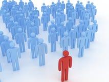 ηγεσία έννοιας διανυσματική απεικόνιση