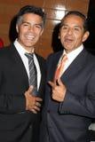 Ηθικά Esai, Antonio Villaraigosa Στοκ Φωτογραφίες