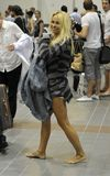 ηθοποιός Άντερσον η ξυπόλ&up στοκ εικόνα με δικαίωμα ελεύθερης χρήσης