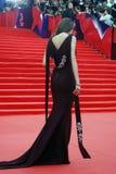 Ηθοποιός Anna Chipovskaya στο φεστιβάλ ταινιών της Μόσχας Στοκ εικόνα με δικαίωμα ελεύθερης χρήσης