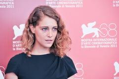 Ηθοποιός Ariane Labed Στοκ Φωτογραφίες