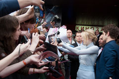 Ηθοποιός Emma Stone στοκ εικόνες