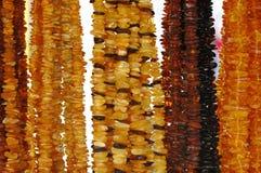 ηλέκτρινα περιδέραια Στοκ φωτογραφία με δικαίωμα ελεύθερης χρήσης
