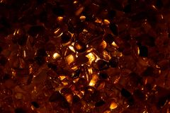 Ηλέκτρινα σιτάρια με το φωτισμό backlight Στοκ φωτογραφία με δικαίωμα ελεύθερης χρήσης