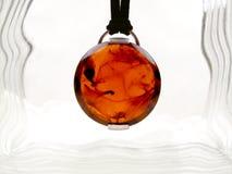 ηλέκτρινο κρεμαστό κόσμημ&alph Στοκ Εικόνα