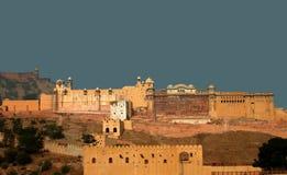 ηλέκτρινο οχυρό Ινδία Jaipur στοκ εικόνες
