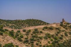 Ηλέκτρινο οχυρό Ινδία Jaipur Rajasthan στοκ φωτογραφίες