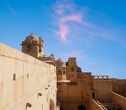 ηλέκτρινο οχυρό Jaipur Στοκ εικόνα με δικαίωμα ελεύθερης χρήσης