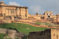 Ηλέκτρινο Fort.Jaipur.India. Στοκ Εικόνες