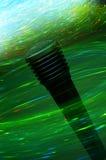 ηλεκτρίζοντας μικρόφωνο Στοκ εικόνα με δικαίωμα ελεύθερης χρήσης