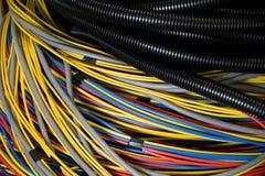 ηλεκτρικά καλώδια Στοκ εικόνα με δικαίωμα ελεύθερης χρήσης