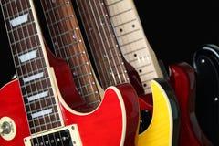 ηλεκτρικές κιθάρες Στοκ Φωτογραφία
