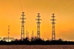 ηλεκτρική γραμμή Στοκ Εικόνες