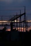 ηλεκτρική ενέργεια αυγή&si Στοκ φωτογραφία με δικαίωμα ελεύθερης χρήσης
