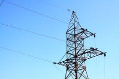 ηλεκτρική ενέργεια γραμμ Στοκ εικόνα με δικαίωμα ελεύθερης χρήσης