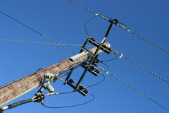 ηλεκτρική ενέργεια διανομής στοκ φωτογραφία
