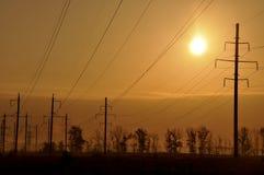 ηλεκτρική ενέργεια ηλια& Στοκ Φωτογραφίες