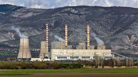 ηλεκτρική ενέργεια φυτών &t Στοκ Φωτογραφίες